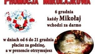 Promocja Mikołajkowa - Pływalnia OSiR Sędziszów