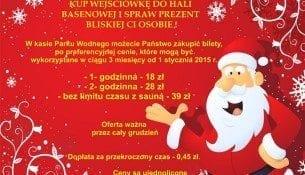 Podaruj bliskim radość płynącą z wodnej zabawy! - Park Wodny Kraków