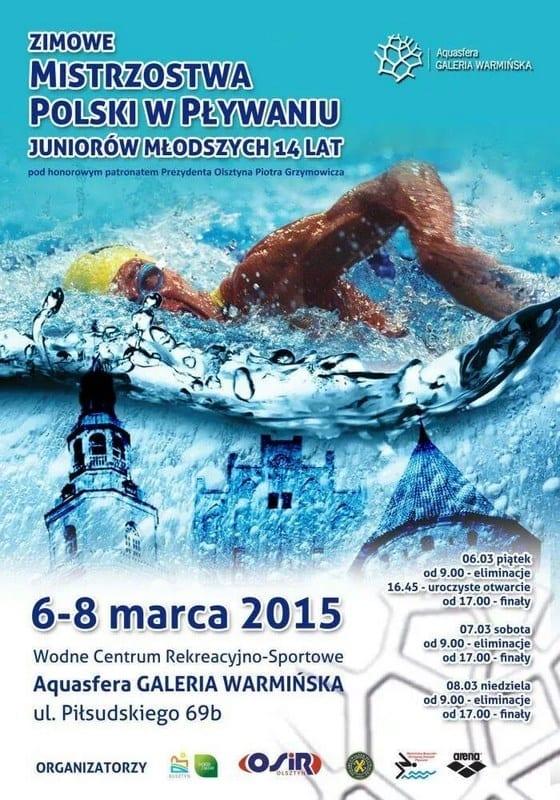 Zimowe Mistrzostwa Polski w Pływaniu