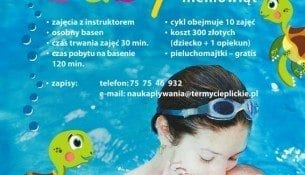 AQUA baby - zajęcia na basenie dla niemowląt