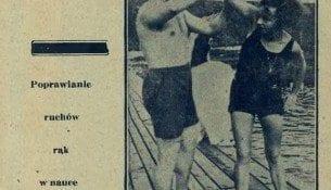 Nasze pływaczki w roku 1929