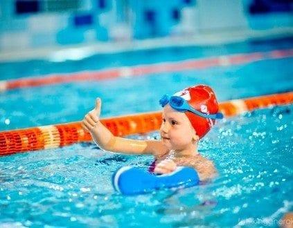 Zajecia na basenie Human Sport Szkola Plywania