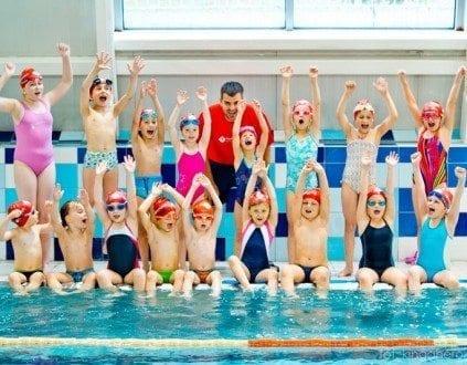 Zajecia na basenie Human Sport Szkola