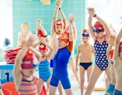 Human Sport Plywanie Dzieci Mlodziezy