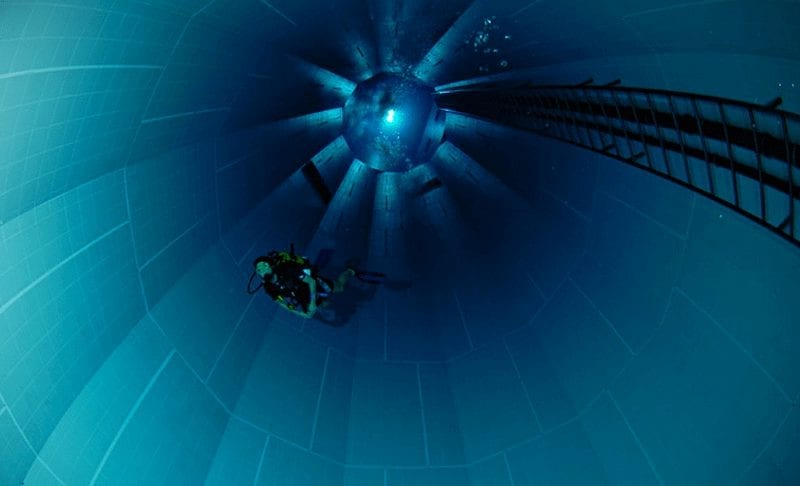 Basen Nemo Nurkowanie