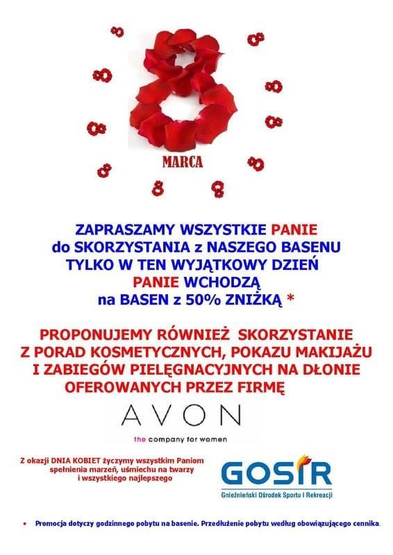 8 marca na basenie w Gnieźnie!