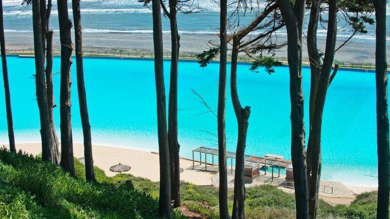 Największy basen Chile