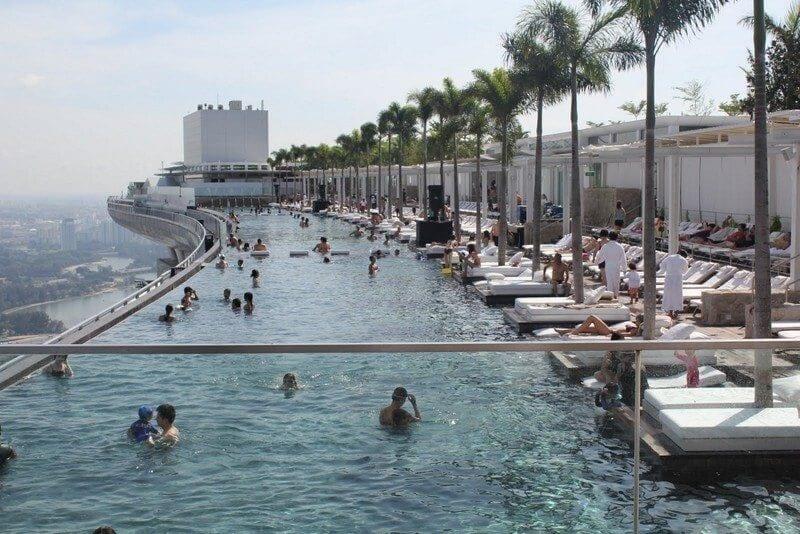Skypark Swimming Pool Singapur