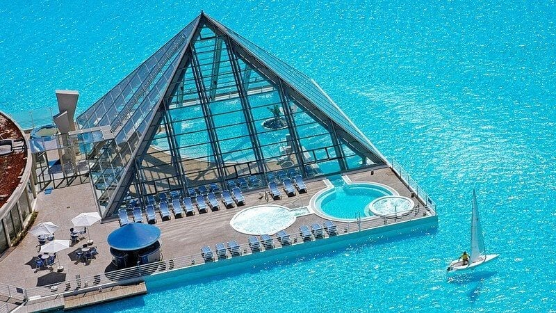 Wielki basen w Chile