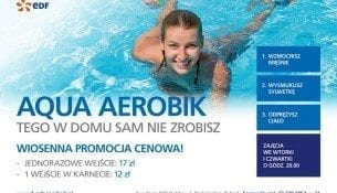Wiosenna promocja! Aqua Aerobik - basen Rybnik