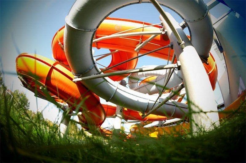 Przerwa techniczna zjeżdżalni Turbo - Aquapark Wrocław