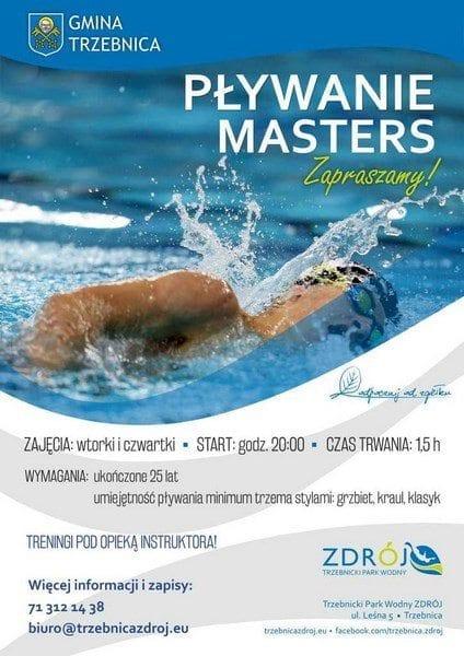 Pływanie masters - Trzebnicki Park Wodny