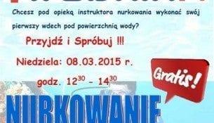 Nurkowanie - pierwszy wdech! - basen Wodnik Krotoszyn