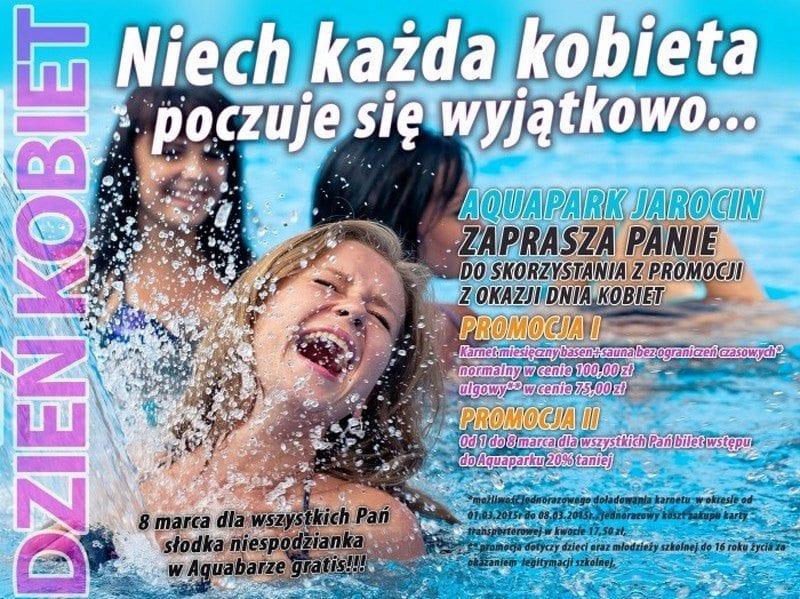Niech każda kobieta poczuje się wyjątkowo - Aquapark Jarocin