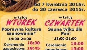 Sredzki Park Wodny Sauny