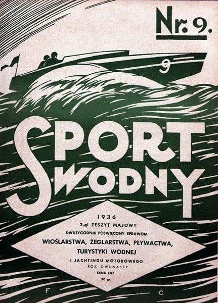 O rozwój skoków pływackich - 1936r