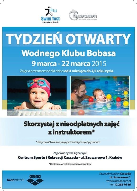 Tydzień otwarty Wodnego Klubu Bobasa