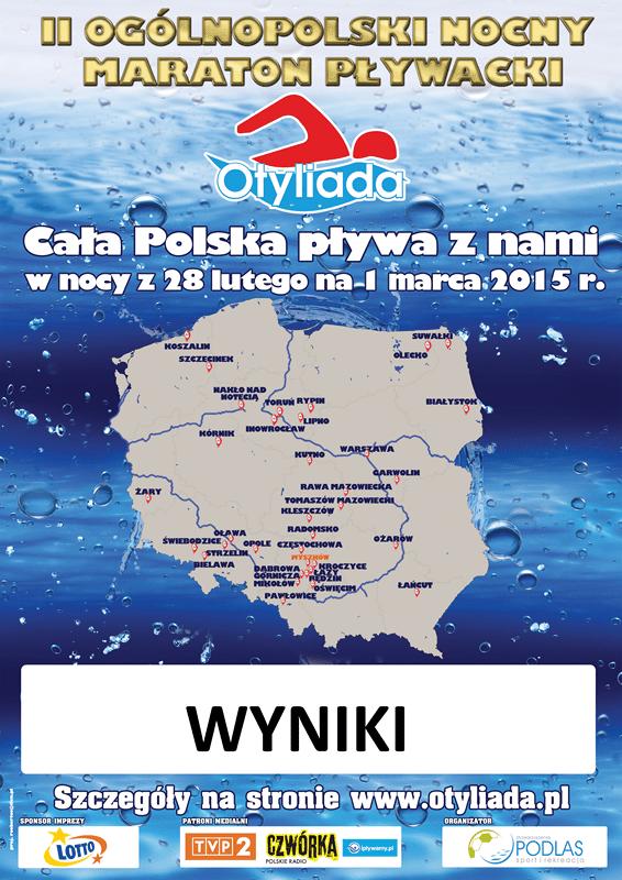 Za nami II Ogólnopolski Nocny Maraton Pływacki Otyliada 2015!