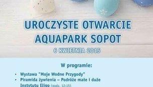 Aquapark Sopot Otwarcie