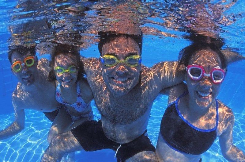 choroby na basenie