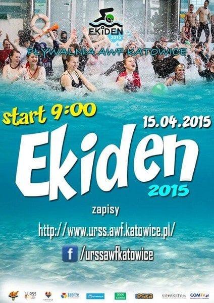 EKIDEN 2015 - Maraton Pływacki na wszystkich AWF-ach!