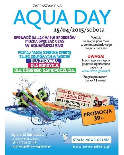 SNG Aqua Day - 25. kwietnia! - Stacja Nowa Gdynia