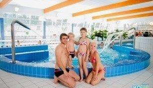 Atrakcje Aquaparku H2Ostrog Raciborz