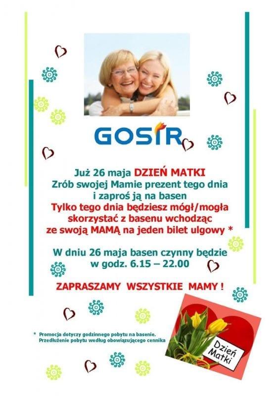 Dzień Matki na basenie w Gnieźnie