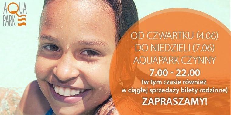 Długi weekend w Aquaparku Piła!
