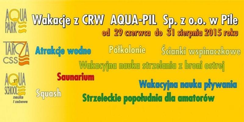 Program wakacji w Aquapark Piła