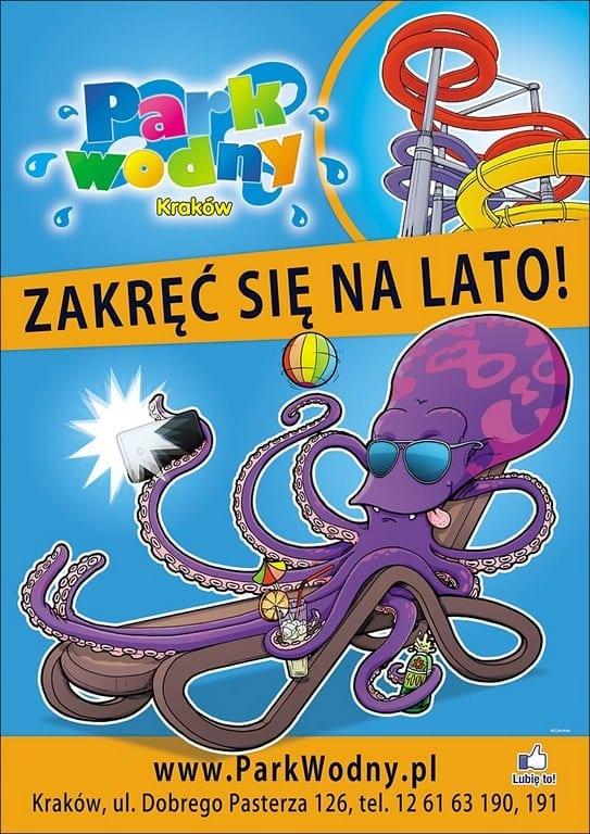 Zakręć się na lato! - Park Wodny Kraków