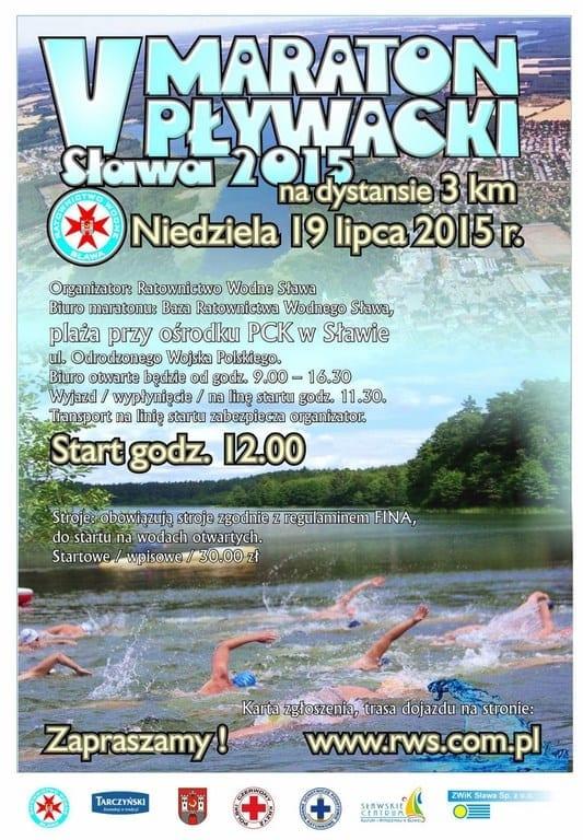 V Maraton Pływacki - Sława 2015