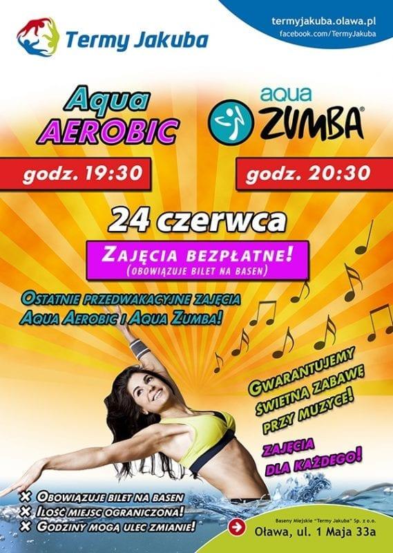 Aqua Aerobic i Aqua Zumba w Termach Jakuba!