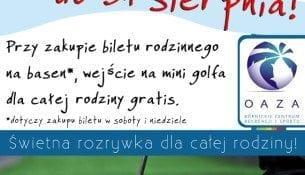 Basen Oaza Kornik Promocja