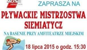 Mistrzostwa Plywackie Siemiatycze