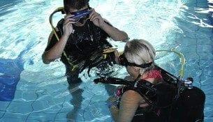 Nurkowanie na basenie Raciborz