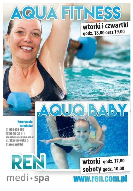 Aqua Fitness i Aqua Baby - Ren Medi + Spa