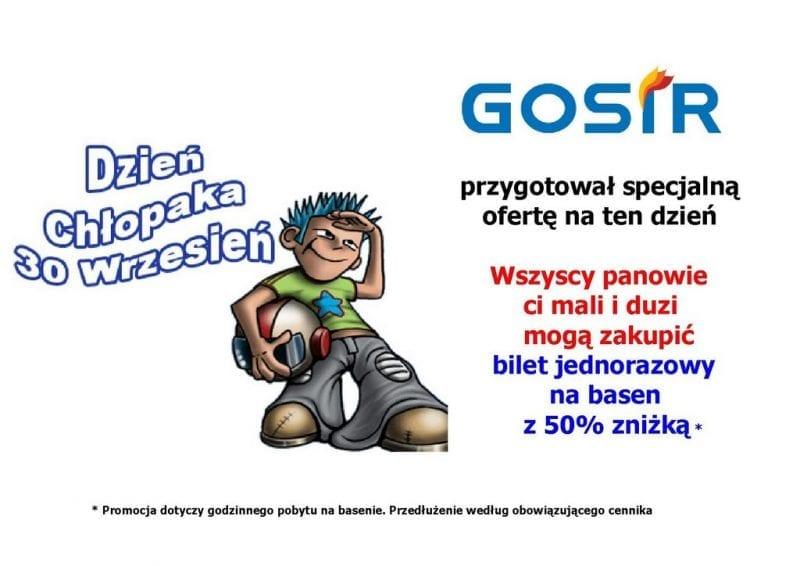 Dzień Chłopaka na basenie w Gnieźnie