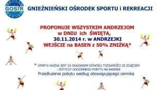 Andrzejki Basen Gniezno