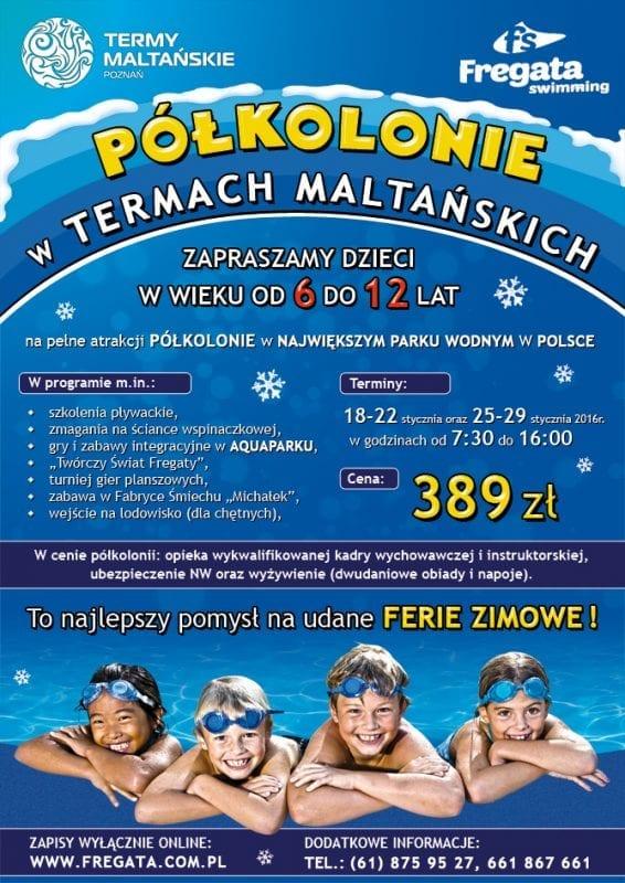 Ferie z Fregatą Swimming: Termy Maltańskie