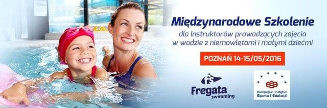 Międzynarodowe Szkolenie Pływanie niemowląt i małych dzieci