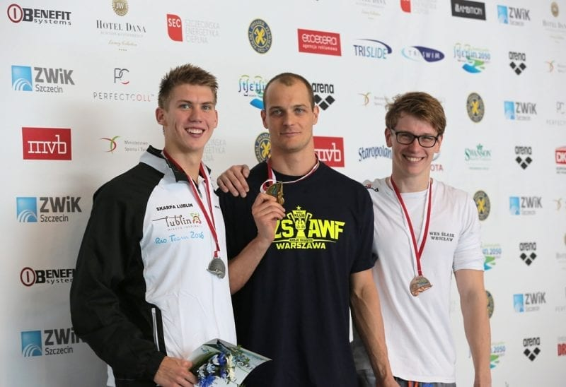 Główne Mistrzostwa Polski w Pływaniu - III dzień