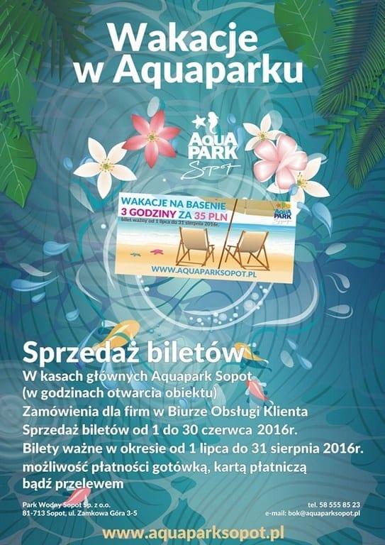 Wakacje w Aquaparku Sopot