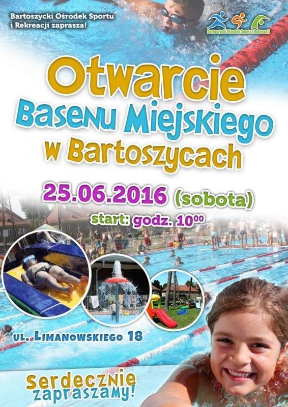 Otwarcie Basenu Miejskiego w Bartoszycach