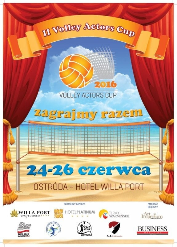 Druga edycja Volley Actors Cup Ostróda