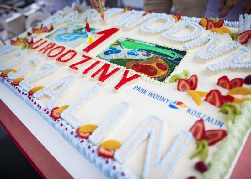 W Parku Wodnym Koszalin obchodzono pierwsze urodziny!