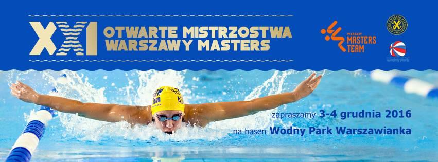 XXI Otwarte Mistrzostwa Warszawy w Pływaniu Masters