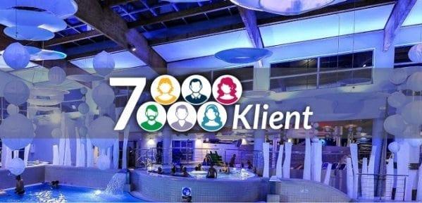 Aquapark Sopot czeka na 7 - milionowego Klienta