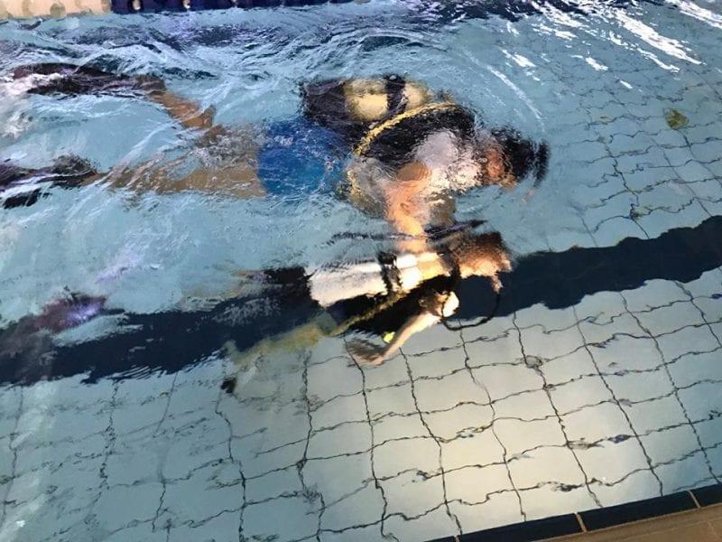 Wielkanocne nurkowanie w NEMO