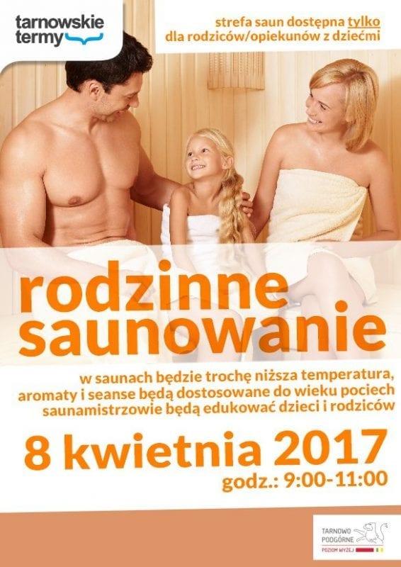 Rodzinne saunowanie w Tarnowskich Termach